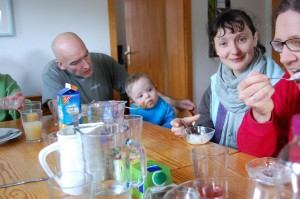 Oliver, Tim, Katharina, Felix