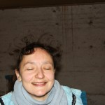 Katharina auf dem Trampolin